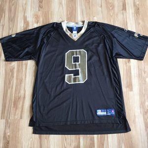 Reebok Shirts - Drew Brees New Orleans Saints NFL Jersey Men s XL bbf092803